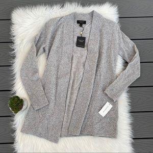 Sequin Cashmere cardigan